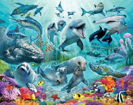 "Photo wallpaper ""Under The Sea"""